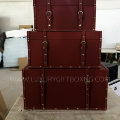 Brtown Leather Trunk
