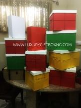 Christmas Foldable Leather Box