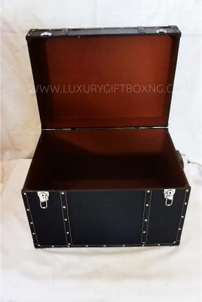 Matte Black Extra Large Matte Leather