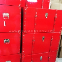 Red Patent Extra Large Box